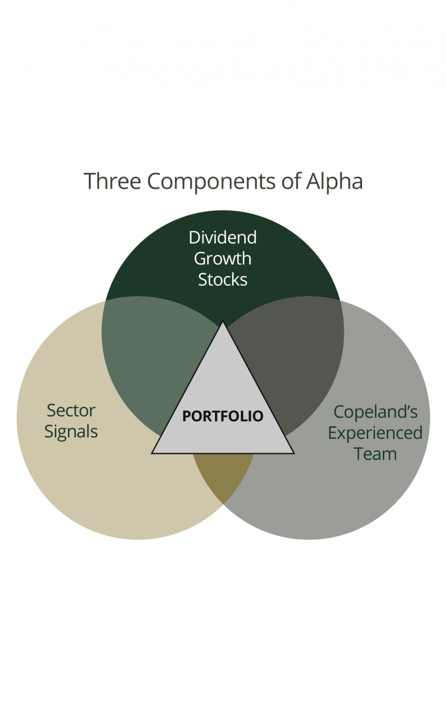 Three Components of Alpha